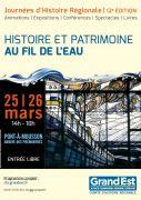 Journées d'Histoire Régionale à Pont-à-Mousson 54700 Pont-à-Mousson du 25-03-2017 à 13:00 au 26-03-2017 à 18:00