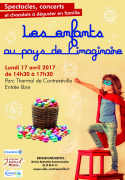 Animation Pâques à Contrexéville 88140 Contrexéville du 17-04-2017 à 14:30 au 17-04-2017 à 17:30