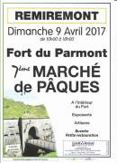 Marché de Pâques Fort Parmont Remiremont