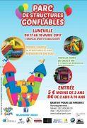 Structures Gonflables à Lunéville Vacances Pâques 54300 Lunéville du 17-04-2017 à 13:30 au 19-04-2017 à 19:00