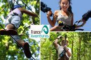 Parcours Aventure à France Aventure Amnéville 57360 Amnéville du 01-04-2017 à 13:00 au 05-11-2017 à 17:00