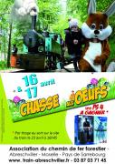 Chasse aux Oeuf Chemin de Fer Forestier d'Abreschviller 57560 Abreschviller du 16-04-2017 à 15:00 au 17-04-2017 à 15:00