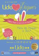 Repas de Pâques au Lido de Gérardmer 88400 Gérardmer du 17-04-2017 à 12:00 au 17-04-2017 à 15:00