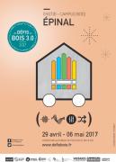 Les Défis du Bois 3.0 à Epinal 88000 Epinal du 29-04-2017 à 09:00 au 06-05-2017 à 17:00