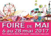 Foire de Mai à Metz Foire Attractive 57000 Metz du 06-05-2017 à 12:00 au 28-05-2017 à 19:00