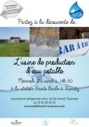 Visite Usine de Production d'Eau Potable à Aumetz 57710 Aumetz du 26-04-2017 à 14:30 au 26-04-2017 à 16:00