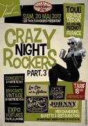 Crazy Night Rockers à Toul Brocante Vintage et Concert