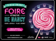 Offre Foire Nancy : Billet mini-groupe Métrolor Loisirs  54000 Nancy du 31-03-2017 à 06:00 au 01-05-2017 à 20:00