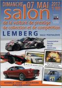 Salon Voiture Ancienne, Prestige et Compétition Lemberg 57620 Lemberg du 07-05-2017 à 10:00 au 07-05-2017 à 18:00