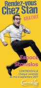Spectacles Rendez-Vous Chez Stan à Contrexéville 88140 Contrexéville du 19-05-2017 à 20:30 au 29-09-2017 à 22:30