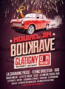 Nouvel An Boukrave Festival Musiques Actuelles à Glatigny
