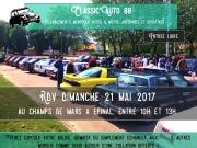 Rassemblement Véhicules de Collection à Epinal 88000 Epinal du 21-05-2017 à 10:00 au 21-05-2017 à 13:00