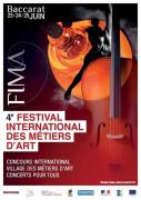 FIMA Baccarat Festival des Métiers d'Art 54120 Baccarat du 23-06-2017 à 14:00 au 25-06-2017 à 18:00