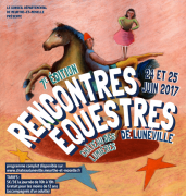 Rencontres Equestres de Lunéville  54300 Lunéville du 24-06-2017 à 10:00 au 25-06-2017 à 19:00