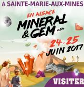 Salon Mineral et Gem Sainte-Marie-Aux-Mines 68160 Sainte-Marie-aux-Mines du 24-06-2017 à 09:00 au 25-06-2017 à 18:00
