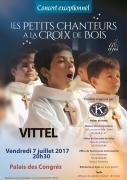 Concert Petits Chanteurs à la Croix de Bois Vittel
