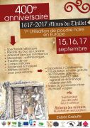 400 Ans Utilisation Poudre Noire en Mine au Thillot 88160 Le Thillot du 28-04-2017 à 20:00 au 15-12-2017 à 18:00