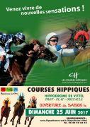 Hippodrome de Vittel Saison des Courses 88800 Vittel du 25-06-2017 à 11:00 au 20-08-2017 à 18:00