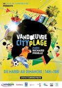 Vandoeuvre City Plage 54500 Vandoeuvre-lès-Nancy du 08-07-2017 à 14:00 au 06-08-2017 à 19:00