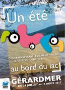 Un Eté au Bord du Lac Saison Estivale Gérardmer 88400 Gérardmer du 24-07-2017 à 14:00 au 12-08-2017 à 23:30