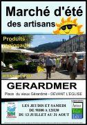 Marchés d'Été des Artisans à Gérardmer