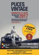 Puces Vintage à Metz Expo 57000 Metz du 27-08-2017 à 07:00 au 27-08-2017 à 17:00
