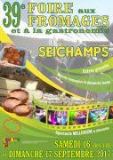 Foire aux Fromages à Seichamps 54280 Seichamps du 16-09-2017 à 11:00 au 17-09-2017 à 18:00