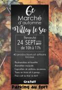 Marché d'Automne à Villey-le-Sec 54840 Villey-le-Sec du 24-09-2017 à 10:00 au 24-09-2017 à 17:00