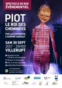 Spectacle Piot, Le Roi des Cheminées à Villerupt 54190 Villerupt du 30-09-2017 à 20:00 au 30-09-2017 à 22:30