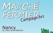 Marché Fermier Campagn'art Nancy Pépinière