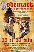 32ème Fête médiévale à Rodemack 57570 Rodemack du 25-06-2011 à 14:00 au 26-06-2011 à 17:00