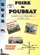 Foire de Poussay 2012 88500 Poussay du 20-10-2012 � 06:00 au 21-10-2012 � 20:00