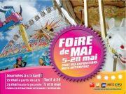 Foire de Mai � Metz : foire attractive 2012 57000 Metz du 05-05-2012 � 16:00 au 28-05-2012 � 23:00