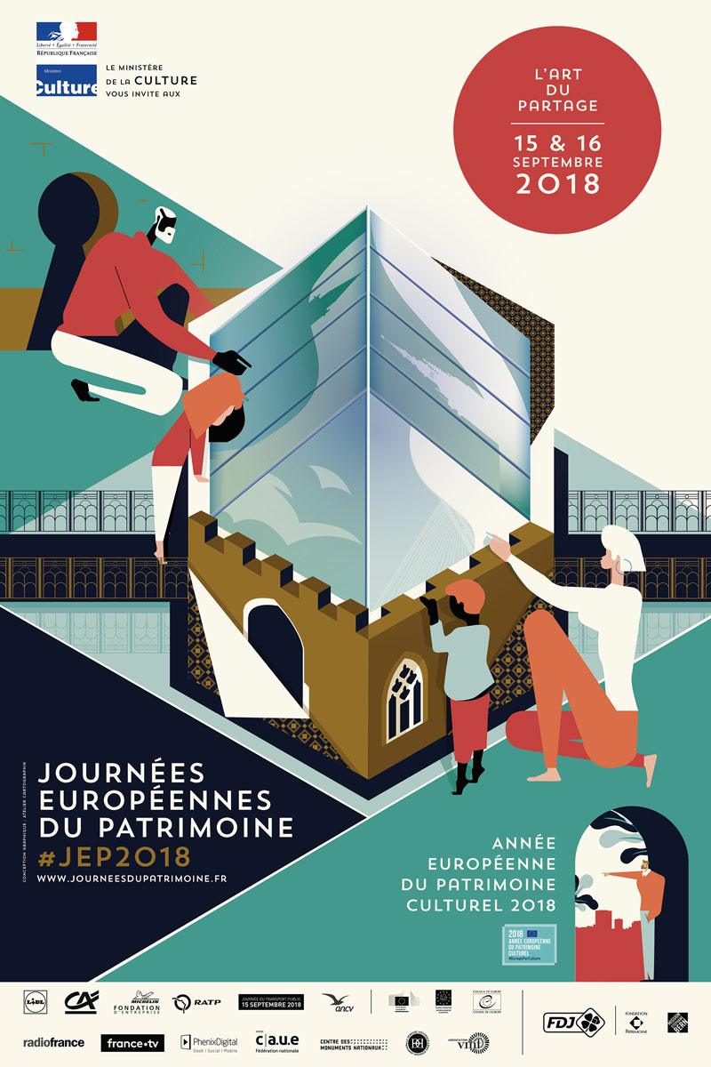 JEP 2018 : Journées du Patrimoine à Fains-Véel 55000 Fains-Véel du 15-09-2018 à 09:00 au 16-09-2018 à 18:00