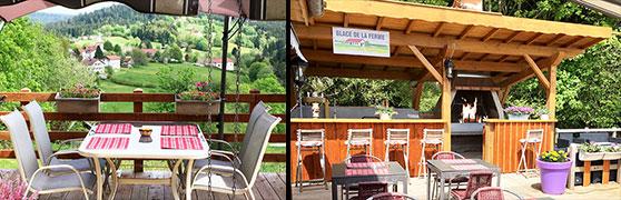 Promotions Terrasses Auberge du Liézey Vosges