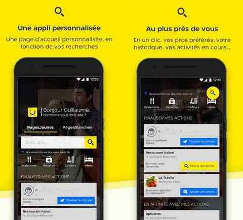 Pages Jaunes iPhone