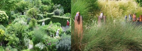 oeuvres Arts aux Jardins 2019 en Meurthe-et-Moselle