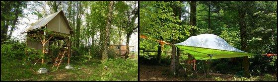 Hébergement Insolite Bivouac Haute-Saône