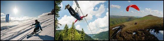 Activités Sensations Bol d'Air Aventure La Bresse Vosges