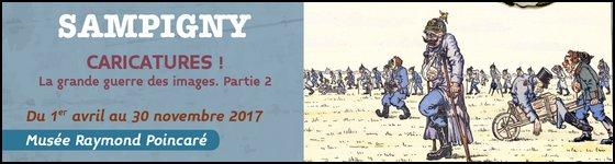 Exposition Caricatures Grande Guerre Musée Sampigny Poincaré