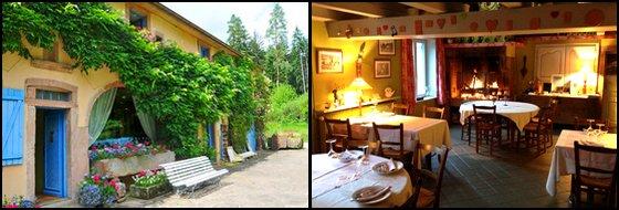 Bons Cadeaux Auberge de la Cholotte Séjour Charme dans les Vosges