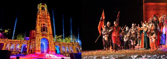 Spectacle L'Enquete Jeanne d'Arc 2018