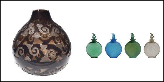 Lalique Volutes Flacons Amphitrite