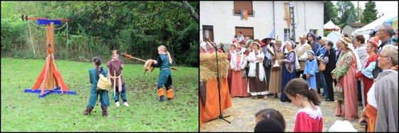 Fête Médiévale Lorraine Virecourt