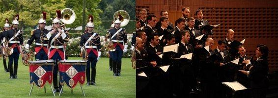 Musique et choeur de l'armée française