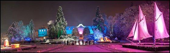 Noël au Jardin Parc de Wesserling en Alsace