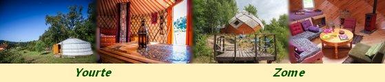 Séjour Yourtes Hébergements Insolites dans les Vosges Domaine des Planesses