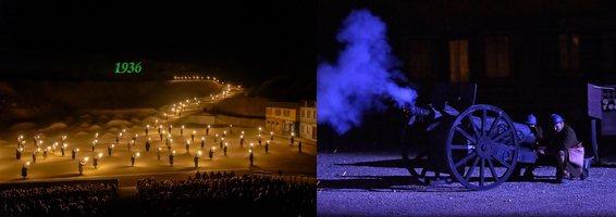 Spectacle des Flammes à la Lumière à Verdun