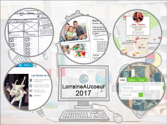 LorraineAUcoeur.com prépare la version2 du site