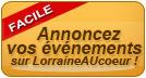 Soumettre une annonce , proposer un événement sur LorraineAUcoeur